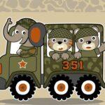 Vehículos de armas del ejército Match 3