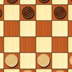 Checkers – strategy board game