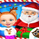 Christmas Game Frozen Match 3 Game Sweet Baby Girl