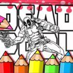 Deadpool Coloring Book