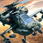 Ataque aéreo en helicóptero