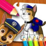 PAW Patrol Coloring Book html5