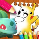 Pokemon Coloring Book for kids