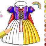 Princess Glitter Coloring