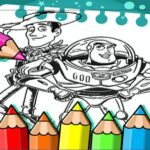 Toy Story Coloring Book