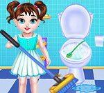 Limpieza de la casa de Baby Taylor